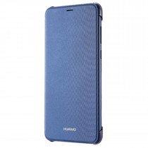 Huawei P Smart folio flip cover origineel blauw