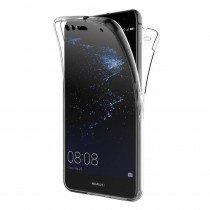 Huawei P10 Lite TPU hoesje voor + achter