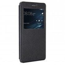 Huawei P10 Lite View cover zwart