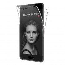 Huawei P10 TPU hoesje voor + achter