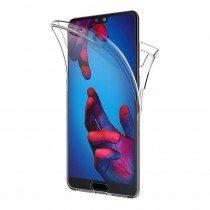 Huawei P20 TPU hoesje voor + achter