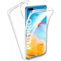 Huawei P40 Pro TPU hoesje voor + achter