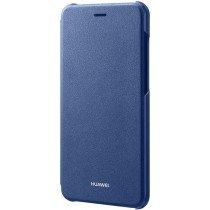 Huawei P8 Lite (2017) folio flip cover origineel blauw