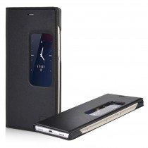 Huawei P8 View cover zwart