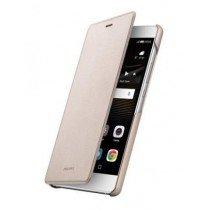 Huawei P9 Lite folio flip cover origineel goud