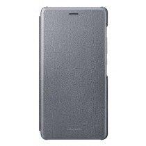Huawei P9 Lite folio flip cover origineel zwart