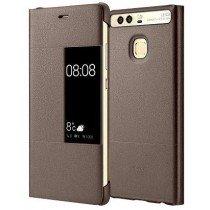 Huawei P9 View case origineel bruin