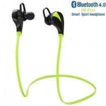 In-ear sport headset draadloos - bluetooth zwart-groen