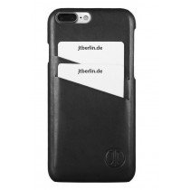 JT Berlin LederCover Style - Apple iPhone 7 Plus / 8 Plus - zwart