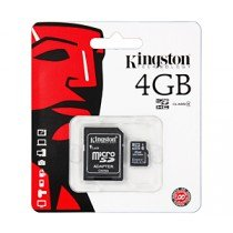 Kingston Micro SDHC Card 4GB C4