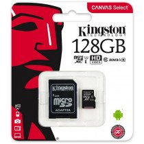 Kingston Micro SDXC Card 128GB C10