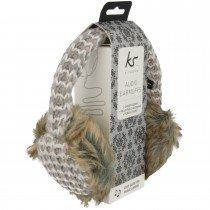 Knitwear oorwarmers met ingebouwde headset - KitSound