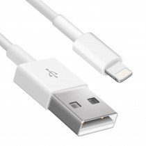 Lightning naar USB kabel iPhone / iPad 1 meter wit