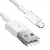 Lightning naar USB kabel iPhone / iPad 1 meter wit