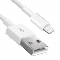 Lightning naar USB kabel iPhone / iPad 3 meter wit