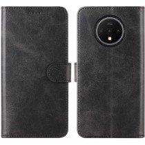 Luxury book case OnePlus 7T zwart