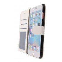 Luxury wallet hoesje Apple iPhone 6S Plus wit - Open