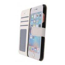 Luxury wallet hoesje Apple iPhone 6S wit - Open