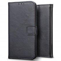 Luxury wallet hoesje Apple iPhone 7 zwart