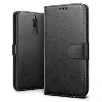 Luxury wallet hoesje Huawei Mate 10 Lite zwart