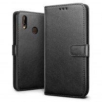 Luxury wallet hoesje Huawei P20 zwart
