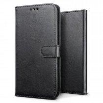 Luxury wallet hoesje Huawei P30 zwart