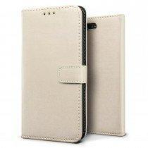 Luxury wallet hoesje Sony Xperia X Compact wit