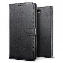 Luxury wallet hoesje Sony Xperia X Compact zwart