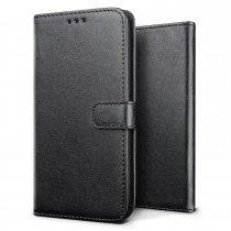 Luxury wallet hoesje Sony Xperia X zwart