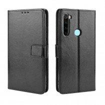 Luxury wallet hoesje Xiaomi Redmi Note 8 zwart
