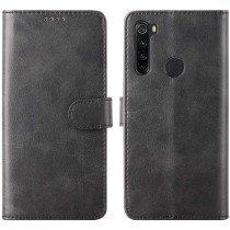 Luxury wallet hoesje Xiaomi Redmi Note 8T zwart