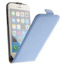 M-Supply Flip case dual color Apple iPhone 6 licht blauw