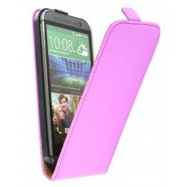 M-Supply Flip case dual color HTC One M8 paars