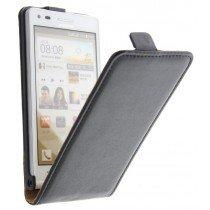 M-Supply Flip case dual color Huawei Ascend G6 zwart