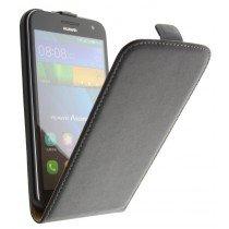 M-Supply Flip case dual color Huawei Ascend G7 zwart