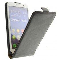 M-Supply Flip case dual color Huawei Ascend G750 zwart
