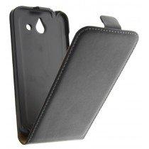 M-Supply Flip case dual color Huawei Ascend Y550 zwart