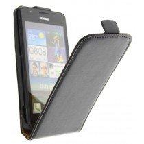 M-Supply Flip case dual color Huawei Ascend G510 zwart