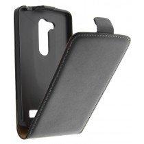 M-Supply Flip case dual color LG L Fino zwart