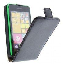 M-Supply Flip case dual color Nokia Lumia 530 zwart
