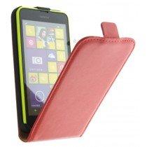 M-Supply Flip case dual color Nokia Lumia 630 rood