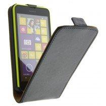 M-Supply Flip case dual color Nokia Lumia 630 zwart