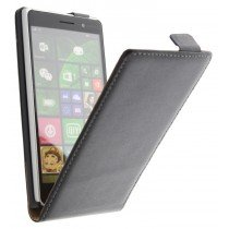 M-Supply Flip case dual color Nokia Lumia 830 zwart