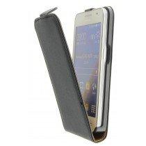 M-Supply Flip case dual color Samsung Galaxy Core 2 zwart