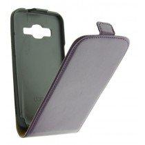M-Supply Flip case dual color Samsung Galaxy Core LTE G386 paars