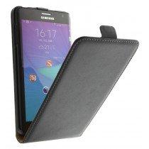 M-Supply Flip case dual color Samsung Galaxy Note Edge zwart