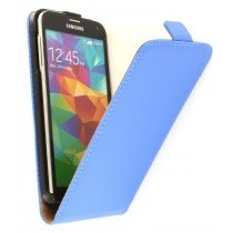 M-Supply Flip case dual color Samsung Galaxy S5 G900 blauw