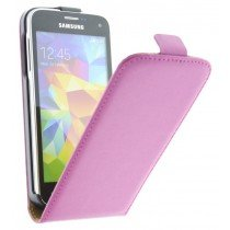 M-Supply Flip case dual color Samsung Galaxy S5 Mini G800 roze