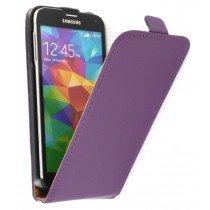 M-Supply Flip case dual color Samsung Galaxy S5 G900 paars