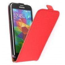 M-Supply Flip case dual color Samsung Galaxy S5 G900 rood